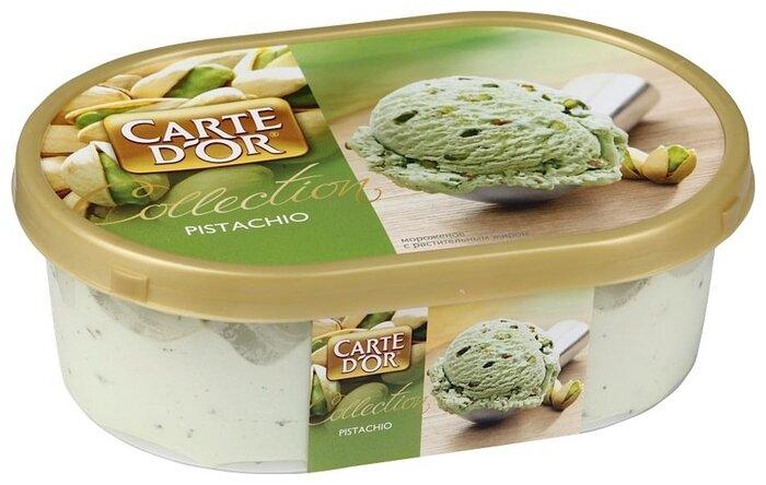 Мороженое Carte D'or фисташковый с фисташками 500 г, 500 г.