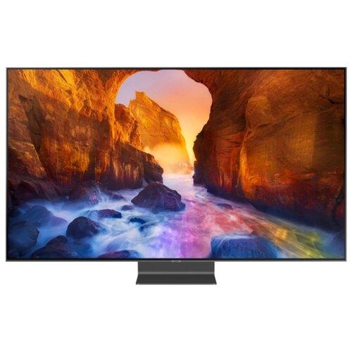 Фото - Телевизор QLED Samsung QE75Q90RAU 75 (2019) серебристый телевизор