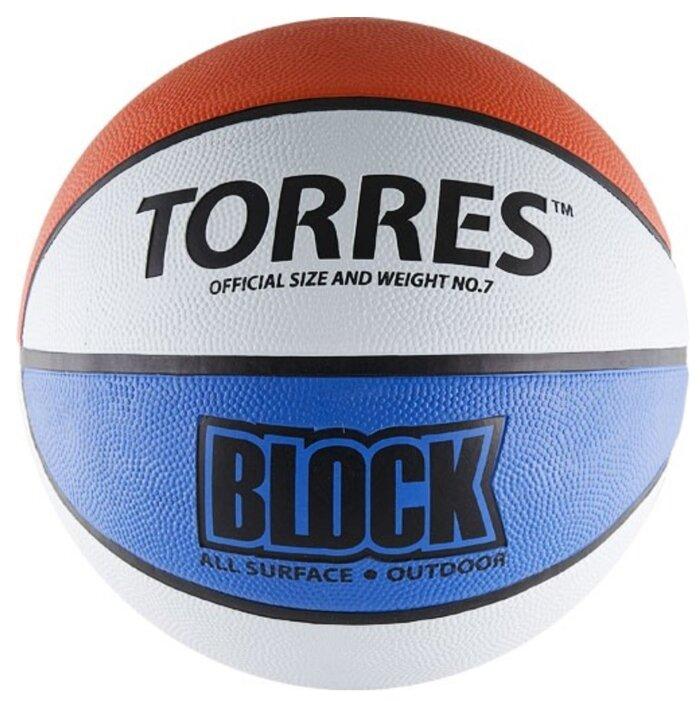 Баскетбольный мяч TORRES Block, р. 7