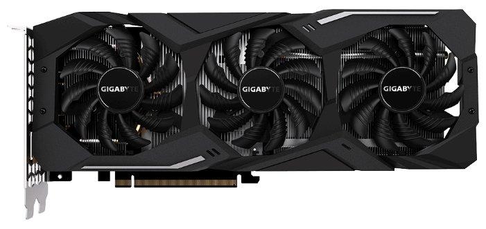GIGABYTE Видеокарта GIGABYTE GeForce RTX 2070 1620MHz PCI-E 3.0 8192MB 14000MHz 256 bit HDMI HDCP WINDFORCE