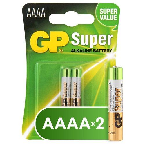 Фото - Батарейка GP Super Alkaline АААA, 2 шт. gp pb570gs270 2cr4
