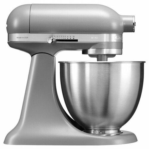 Миксер KitchenAid 5KSM3311XEFG, матовый серый kitchenaid миксер ручной серебристый 5khm9212ecu kitchenaid