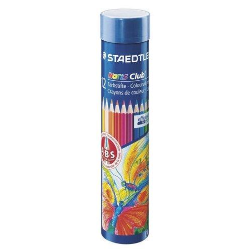 Купить Staedtler Карандаши цветные Noris club, 12 цветов (144 NMD12), Цветные карандаши