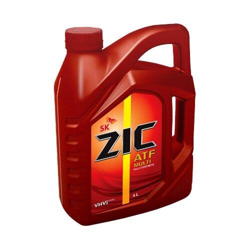 Трансмиссионное масло ZIC ATF Multi 4 л