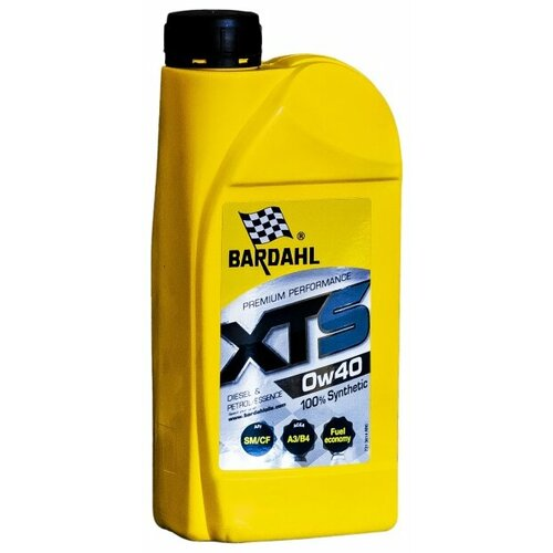 Синтетическое моторное масло Bardahl XTS 0W-40, 1 л по цене 1 131