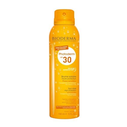 Bioderma Photoderm солнцезащитный спрей-вуаль SPF 30 150 мл photoderm ar spf 50