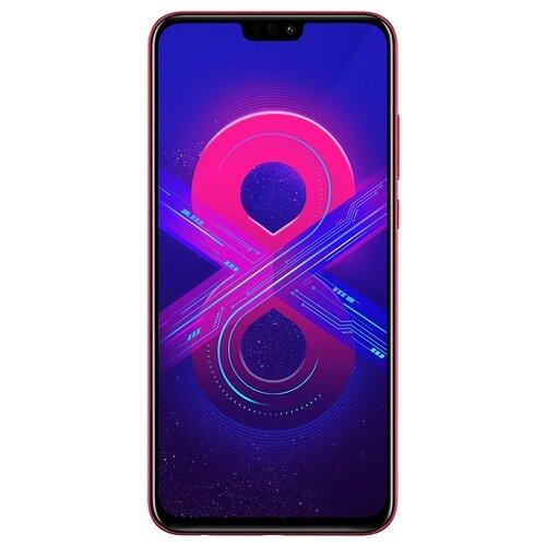 Смартфон Honor 8X 4/128GB красныйМобильные телефоны<br>