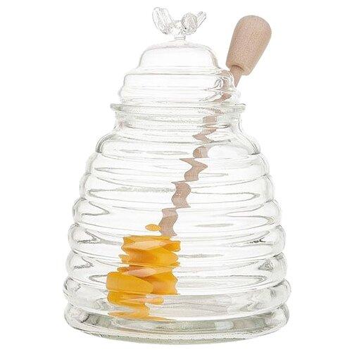 Best Home Kitchen Банка для меда 5470030 400 мл прозрачныйБанки для хранения<br>
