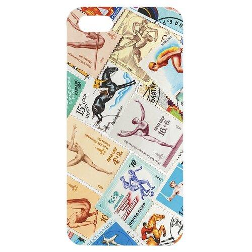 Чехол Mitya Veselkov IP5.МITYA-126 для Apple iPhone 5/iPhone 5S/iPhone SE Спорт (марки)Чехлы<br>