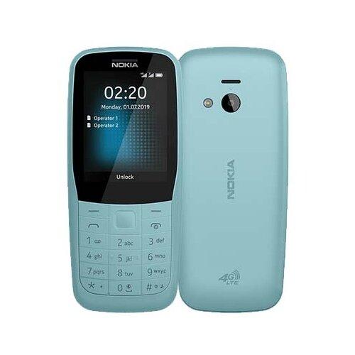 Телефон Nokia 220 4G Dual sim синий телефон