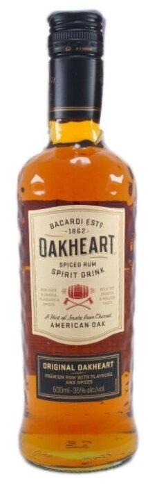 Напиток на основе рома Bacardi Oakheart Original 1 год 0.5 л