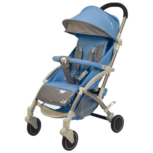 Прогулочная коляска Babyhit Allure, голубой/серый прогулочная коляска bimbo angel f голубой