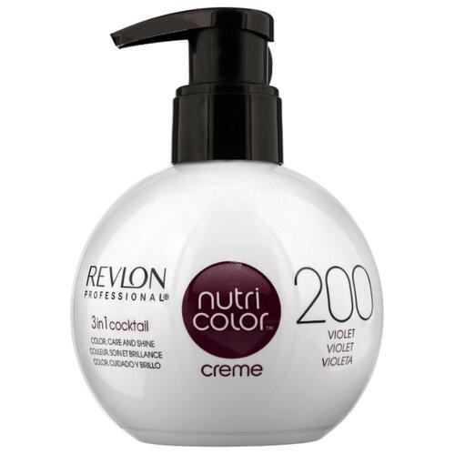Крем Revlon Professional Nutri Color 3 in 1 cocktail 200 Violet, 270 млОттеночные и камуфлирующие средства<br>
