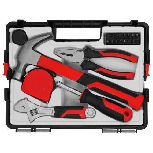 Набор инструментов Vira (22 предм.) 305086 черный/красный набор инструментов для электромонтажа vira 1000v 397033 10 шт