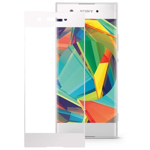 Защитное стекло Mobius 3D Full Cover Premium Tempered Glass для Sony Xperia XA1 белый смартфон sony g3412 xperia xa1 plus dual 32gb gold