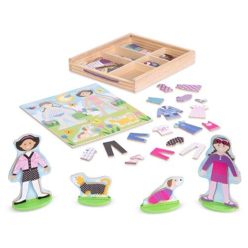 Купить Игровой набор Melissa & Doug Best Friends Magnetic Dress-Up Play Set 9314, Игровые наборы и фигурки