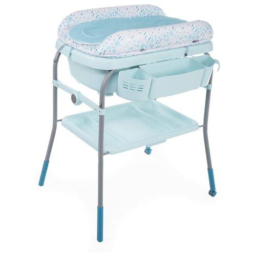 Купить Пеленальный столик Chicco Cuddle & Bubble dusty green, Пеленальные столики и доски