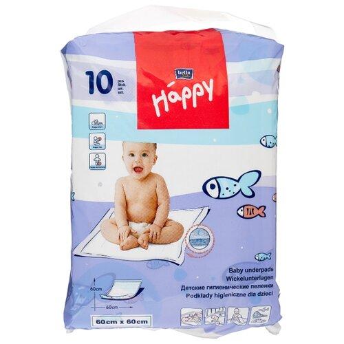 Одноразовые пеленки Bella Baby happy 60x60 10 шт.