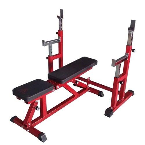 Комплект DFC скамья и стойка DZ005AB черный/красный