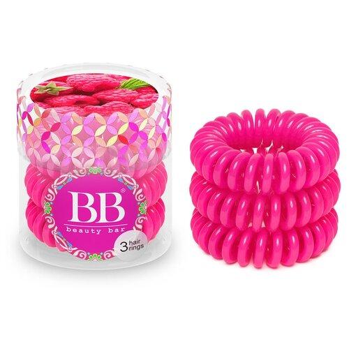 цена на Резинка Beauty Bar браслет 3 шт. малиновый