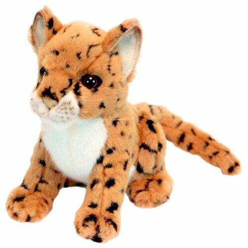 цена на Мягкая игрушка Hansa Детёныш леопарда 16 см