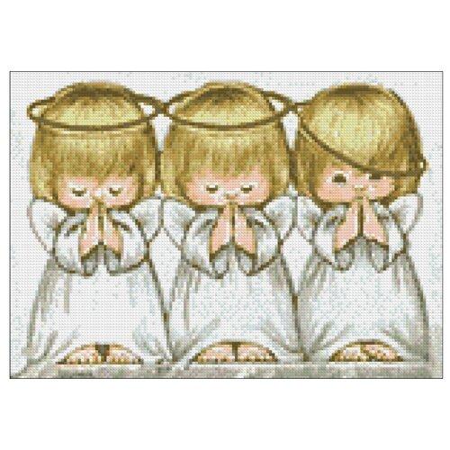Гранни Алмазная мозаика Ангелочки (ag054) 38x27 см