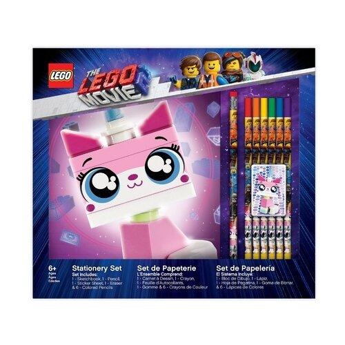 Купить LEGO канцелярский набор для рисования Movie 2 Unikitty (52347), Наборы для рисования