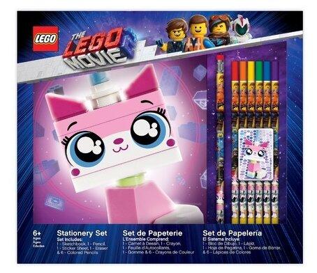 LEGO канцелярский набор для рисования Movie 2 Unikitty (52347)