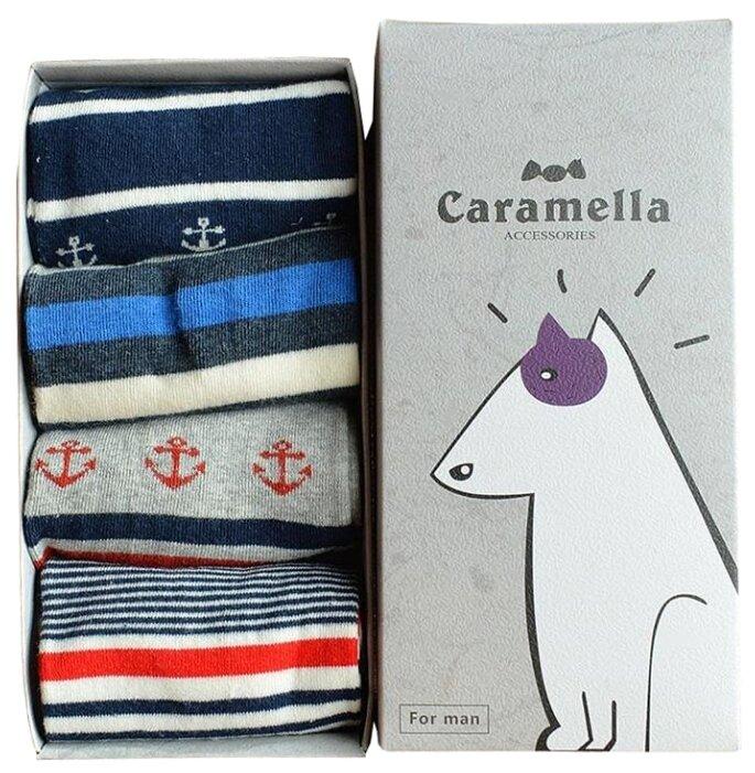 Носки Бультерьер, набор из 4 пар Caramella