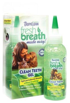 Зубной гель для собак и кошек Tropiclean Fresh Breath