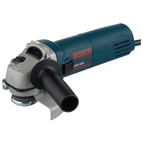 УШМ BOSCH GWS 660-125, 660 Вт, 125 мм ушм bosch gws 9 125 2019 900 вт 125 мм