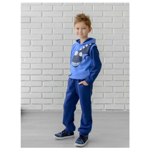 Комплект одежды looklie размер 122-128, голубойКомплекты и форма<br>