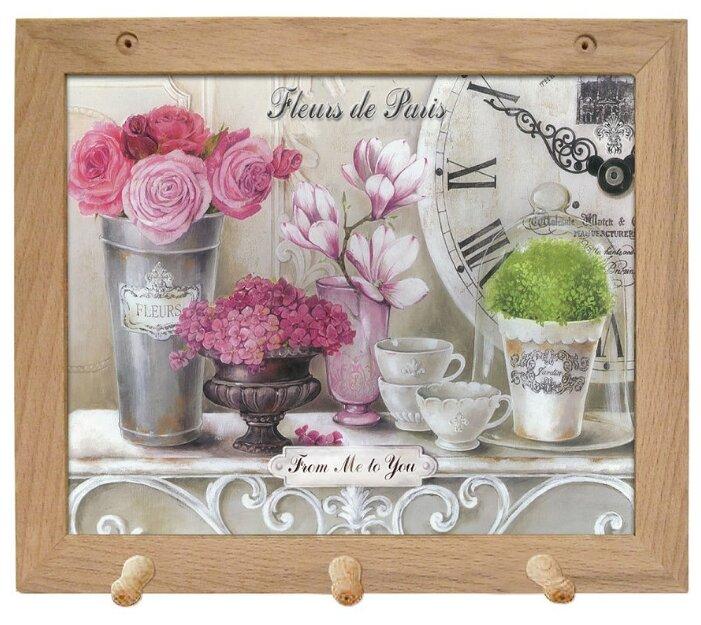 Вешалка Gift'n'Home для полотенец Парижские цветы