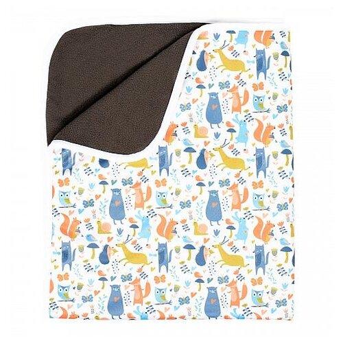 Многоразовые пеленки GlorYes! впитывающая угольный бамбук 68х80 утро в лесу, Пеленки, клеенки  - купить со скидкой
