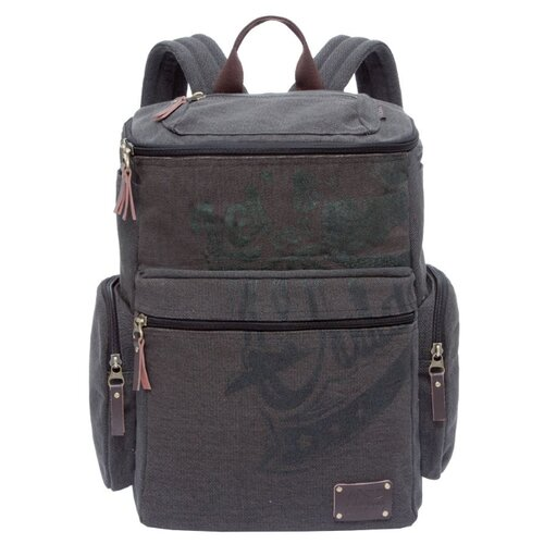 Рюкзак Grizzly RU-702-1 19.5 черный рюкзак городской grizzly цвет синий ru 804 1 4