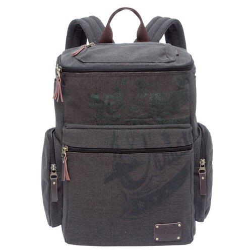 Рюкзак Grizzly RU-702-1 19.5 черный рюкзак grizzly rq 905 1