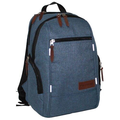 Рюкзак RISE М-361-2-7 20 синий rise рюкзак м 340 эк серый