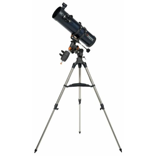 Телескоп Celestron AstroMaster 130 EQ-MD синий/серебристый телескоп celestron astromaster 90 az синий серебристый
