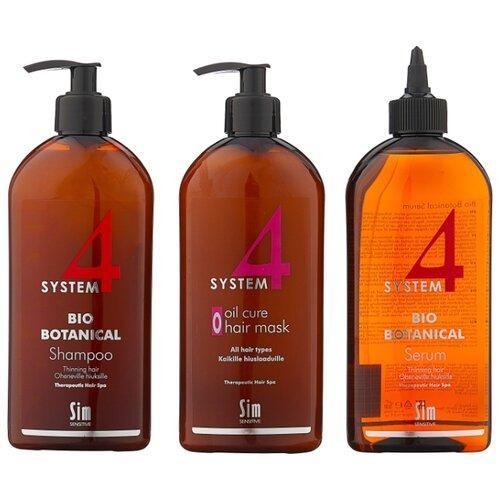 Набор Sim Sensitive Комплекс от выпадения волос System 4 maxi ducray неоптид лосьон от выпадения волос для мужчин 100 мл