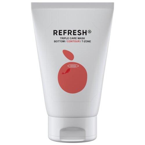Фото - REFRESH Розовая минерально-витаминная маска для области скул Triple Care Mask Contour, 50 мл refresh маска для максимального объема волос long