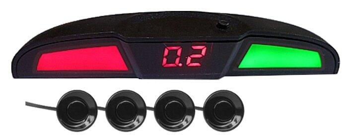 Парктроник AVS PS-444U голосовой с цифровым табло