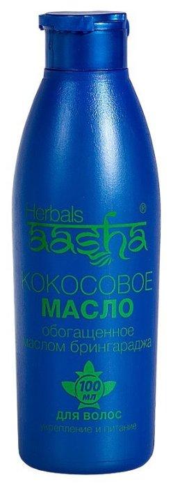 Aasha Herbals Масло для волос кокосовое с Брингараджем