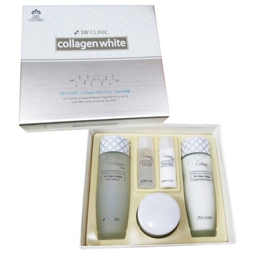 Набор 3W Clinic Collagen white skin care