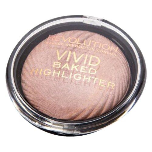 REVOLUTION Хайлайтер Vivid Baked Highlighter peach lights хайлайтер makeup revolution ingot highlighter gold 12 гр