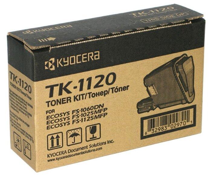 Тонер-картридж Elfotec TK-1120 с чипом для Kyocera (ELF)