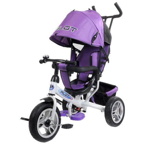 Трехколесный велосипед Pilot PTA3/2019 фиолетовый