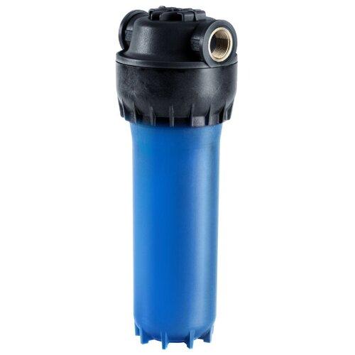 Фильтр магистральный Аквафор Корпус предфильтра для холодной воды армированный синий 1/2 корпус магистрального фильтра аквафор 1 2 д хол воды синий