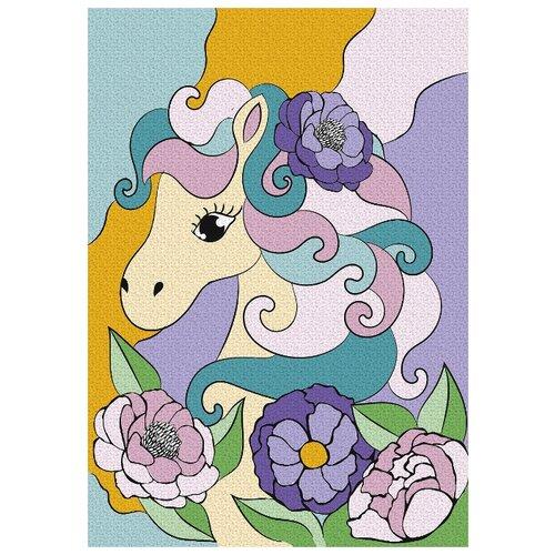 Школа талантов Картина по номерам Волшебная пони 21х15 см (4583514)