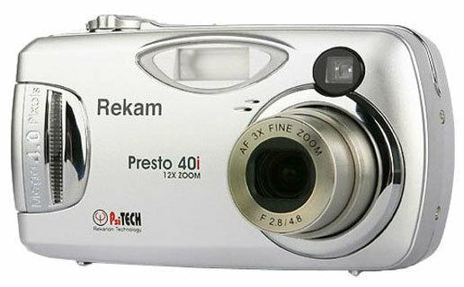 Фотоаппарат Rekam Presto-40i