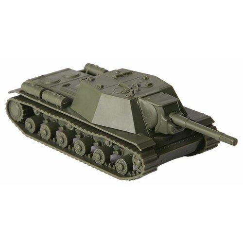 Сборная модель ZVEZDA Советская самоходная артиллерийская установка СУ-152 Зверобой (6182) 1:100 сборная модель zvezda браво 2065 1 100